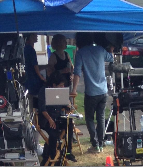 carrie brownstein filming portlandia
