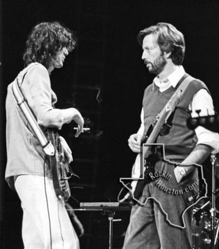 jimmy page eric clapton 1983