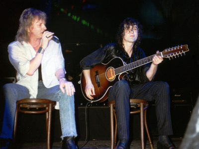 jimmy page john miles 1988 outrider acoustic