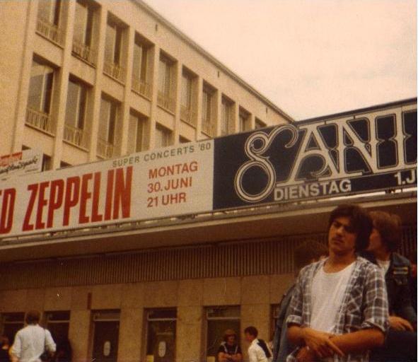 led zeppelin santana frankfury 1980