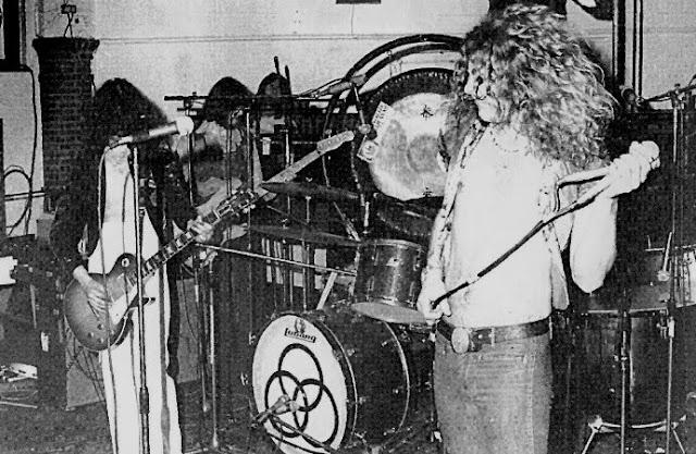 Led Zeppelin onstage southampton 1973