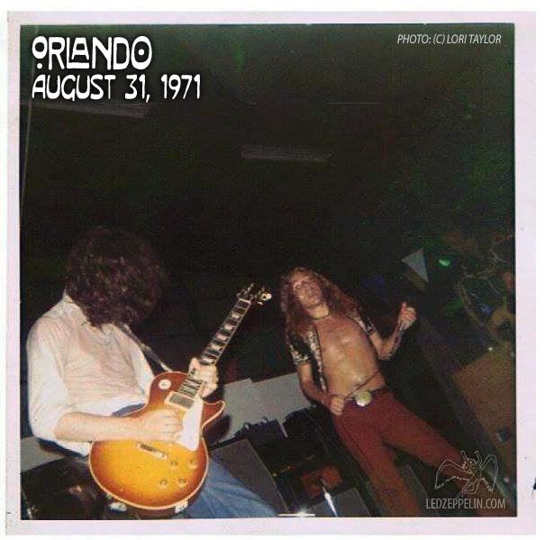 led zeppelin orlando 1971